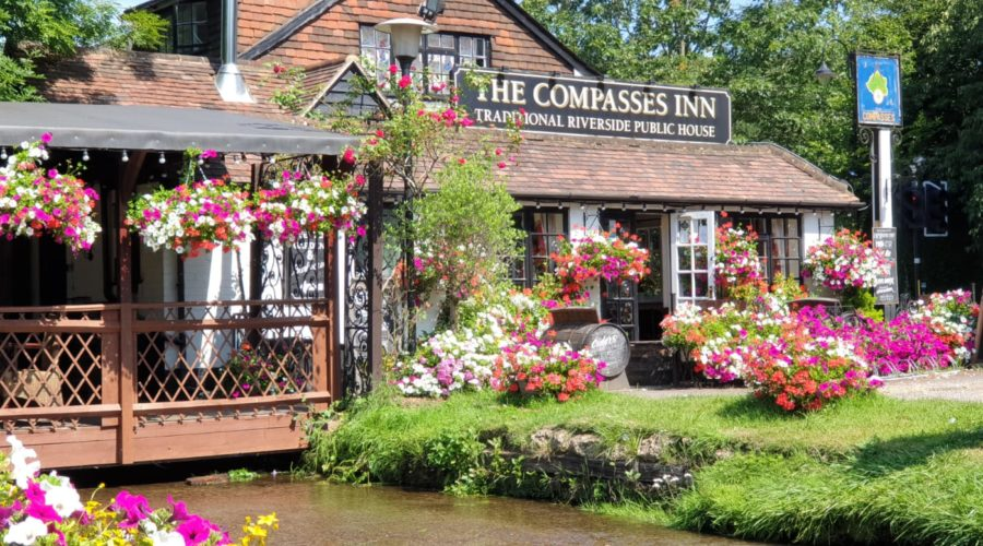 the compasses inn outside